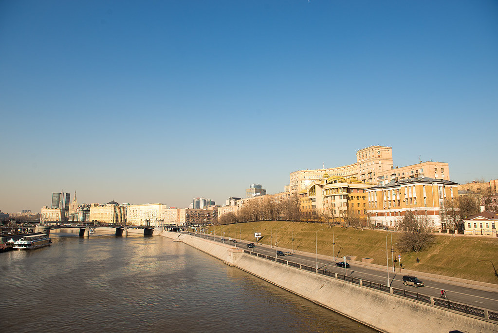 фото: Moscow river