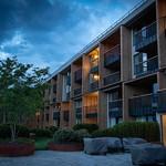 My Arbor Hotel Aussenansicht zur blauen Stunde thumbnail