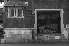 No Parking EL RR CO (sullivan1985) Tags: newjersey nj railroad railway eastorange station door loading dock erielackawanna noparking essexcounty