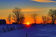 100A6931 (CdnAvSpotter) Tags: sunset countryside winter 2019 february
