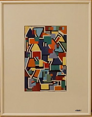 COLORS AND SHAPES (Fimeli) Tags: picture bild polyclay polymerclay handmade handwork abstract