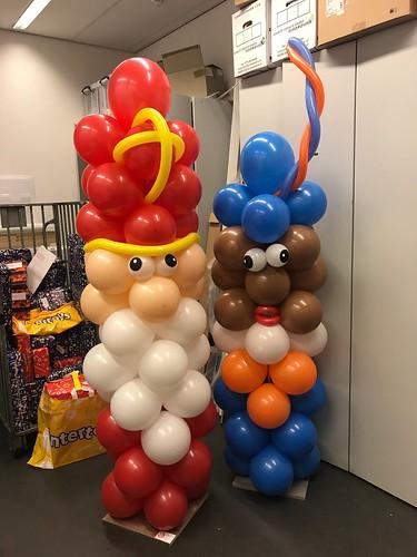 Ballonpilaar Sint en Piet Pels Rijcken Den Haag