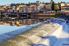 Rive gauche de l'Arno (danilocolombo69) Tags: danilocolombo69 danilocolombo nikonclubit firenze arno ponte cascata
