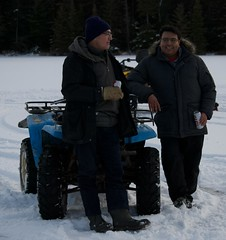 On the ice (Pwern2) Tags: winter canadian canada wilderness thebush friendlymanitoba friendly talking ruralmanitoba ruralbeauty conversations enjoyinglife friends friendship atvs atv nature pedruchnybay lakewinnipeg snow ice beer pointdubois beauty tradition