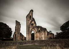 Lamentations (Through_Urizen) Tags: architecture category decay england external glastonbury glastonburyabbey longexposure places somerset ruin corrosion stone stonebuilding grass wall lawn trees clouds cloudysky motionblur canon70d canon1585mm canon outdoor ancientarchitecture historic dissolution monastery abbey placeofworship sky ruins