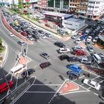 Gridlock In Downtown Kota Kinabalu thumbnail