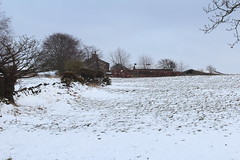Cocker Hill Farm (jdathebowler Thanks for 3 Million + views.) Tags: farmland farmhouse farmbuildings barn drystonewalls snow