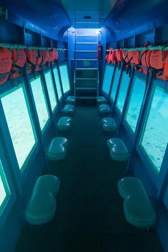 Undersea boat Zakynthos Greece