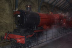 Hogwarts Express (Nano Second Artist) Tags: harry potter hogwarts express warner brothers studio tour london nikon d7100 1855mm snapseed