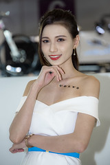 Car Show Girl. (Axim2013) Tags: xinyidistrict taipei taiwan tw nikon nikond810 raykwa myphotoproject color photo girl