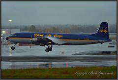 N451CE Everts Air Cargo (Bob Garrard) Tags: n451ce everts air cargo douglas dc6a liftmaster r6d1 anc panc dc6