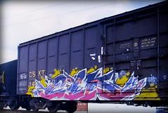 (timetomakethepasta) Tags: cyk rtd freight train graffiti art csx csxt boxcar