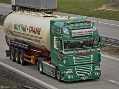 Wuttke Trans (D) (Brayoo) Tags: daf customized silos germany truck lkw camoin