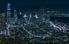 80 influx (pbo31) Tags: bayarea california nikon d810 color night dark black january 2019 city boury pbo31 over lightstream motion traffic roadway 80 skyline baybridge salesforce 181fremont soma tankhill ashburyheights urban sanfrancisco construction view