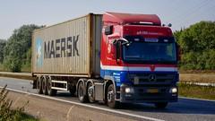 AJ23490 (16.09.13)DSC_3645_Balancer (Lav Ulv) Tags: 213962 eratransport container maersk mercedesbenz actros actros2546 actros934 2013 afmeldt2016 retiredin2016 abgemeldet2016 red euro5 e5 6x24 truck truckphoto truckspotter traffic trafik verkehr cabover street road strasse vej commercialvehicles erhvervskøretøjer danmark denmark dänemark danishhauliers danskefirmaer danskevognmænd vehicle køretøj aarhus lkw lastbil lastvogn camion vehicule coe danemark danimarca lorry autocarra danoise vrachtwagen motorway autobahn motorvej vibyj highway hiway autostrada trækker hauler zugmaschine tractorunit tractor artic articulated semi sattelzug auflieger trailer sattelschlepper vogntog oplegger sættevogn