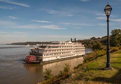 5069 - The America at Natchez (Ken McChesney) Tags: america mississippi natchez river ships