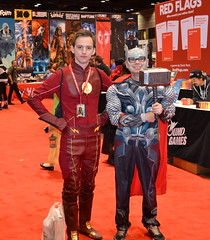 """C2E2 Comic Con 2017 (Vinny Gragg) Tags: sign signs costume costumes cosplay dccomics dc """"justiceleagueofamerica"""" jla marvelcomics marvel marveluniverse flash theflash thor themightythor godofthunder asgard asgardian avenger avengers mightyavengers superheroes superhero comics comicbooks comicbook villian villians supervillian supervillians c2e2 comiccon chicagocomiccon comiccon2017 chicagocomicentertainmentexpo mccormickplace chicagoillinois chicago illinois"""