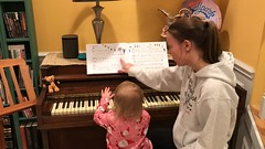"""Dani Plays Piano with Mommy • <a style=""""font-size:0.8em;"""" href=""""http://www.flickr.com/photos/109120354@N07/46891591302/"""" target=""""_blank"""">View on Flickr</a>"""