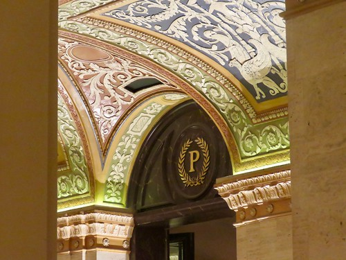 Palmer House Hilton 5 - Ceiling detail