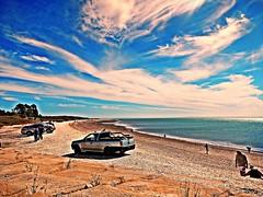 Punta Bermeja (Aprehendiz-Ana Lía) Tags: flickr nikon paz sol luz patagonia argentina cielo nubes color ciel beach ríonegro atlántico verano horizonte nwn