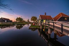 Zaanse Schans, Netherlands (angheloflores) Tags: zaanseschans countryside village northholland landsce colors travel urban explore longexposure windmills