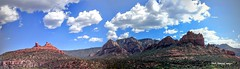 Red Rock State Park, Sedona, Arizona, USA (Black Diamond Images) Tags: redrockstatepark sedona arizona usa redrockbuttes canyon outdoor landscape cloud mountain 2012 usatrip2012 mypix4u2c appleipad ipad appleipadpanorama ipadpanorama googlepanorama googlephotospanorama
