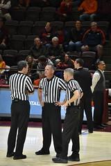 NCAA REFEREES (SneakinDeacon) Tags: referees hokies keydets vt virginiatech vatech vmi cassellcoliseum basketball