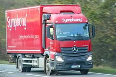 Mercedes Actros Symphony (SR Photos Torksey) Tags: transport truck haulage hgv lorry lgv logistics road commercial vehicle freight traffic mercedes actros symphony