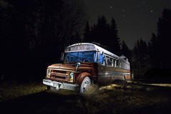 The Grub Box (legham2012) Tags: food truck canon canada lightpainting longexposure light longexposures chevy