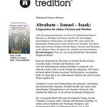 Abraham - Ismael - Isaak: Leitgestalten für Juden, Christen und Muslime thumbnail
