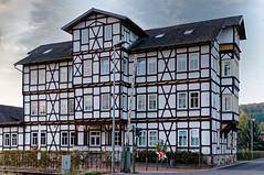 Fachwerkgebäude (~Nordlicht~) Tags: thüringen badsalzungen architektur wartburgkreis