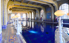 Indoor pool, Hearst Castle (M McBey) Tags: california hearstcastle highwayone pacificcoasthighway building architecture williamhearst famous hollywood