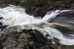 Skelwith Force (l4ts) Tags: landscape cumbria lakedistrict skelwithbridge riverbrathay skelwithforce waterfall longexposure circularpolarisingfilter