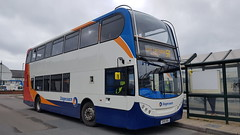 15600 on the 5B (DGPhotography1999) Tags: 15600 doubledeckerbus stagecoach stagecoachsouthwest stagecoachhampshire stagecoachsouth coastliner scania barnstaplebusstation gx10hbj