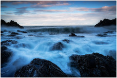 Waves of Satisfaction (Augmented Reality Images (Getty Contributor)) Tags: nisifilters benro canon cliffs clouds coastline findochty landscape longexposure morayshire rocks scotland seascape storm water waves winter