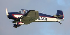 Jodel D117 Grand Tourisme G-BAKR Lee on Solent Airfield 2018 (SupaSmokey) Tags: jodel d117 grand tourisme gbakr lee solent airfield 2018