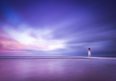 New Brighton lighthouse (Lukasz Lukomski) Tags: landscape wirral lighthouse sea newbrighton nikond7200 sigma1020 longexposure lukaszlukomski merseyside mersey sunrise clouds hightide uk unitedkingdom greatbritain england irishsea reflection