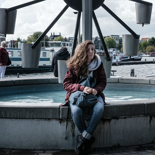 Amsterdam, By Myself, Center, Netherlands, Street, Waiting/Break