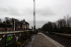 IMG_5003  Settle Railway Station (Beth Hartle Photographs2013) Tags: yorkshire settle settlecarlislerailway railway station