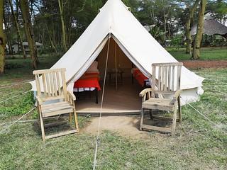 Africa Safari Lake Manyara Camping bell tent 2 guest 1
