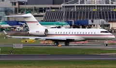 N1FE (Ken Meegan) Tags: n1fe bombardierglobal6000 9815 federalexpress dublin 1512019 fedex bombardier bd7001a10 global6000