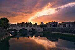 Tiberian sunset #Rome