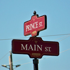 Corner of Prince and Main (Will S.) Tags: mypics deseronto ontario canada signs princest mainst princestreet mainstreet prince main
