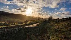 The quiet lane (Phil-Gregory) Tags: nikon d7200 peakdistrict national naturalphotography scenicsnotjustlandscapes landscapes lane sky clouds tokina tokina1120mmatx bamfordedge stanageedge wall