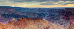 Grand Canyon Morning Panorama (johnny4eyes1) Tags: wideangle landscape desert canyon rocky mountains highcountry panorama coloradoriver pano river morning environment wild grandcanyon southwest travel dawn colorfulnature contrast outdoors arizona sunrise color valleys valley