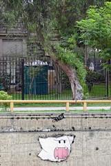 - (txmx 2) Tags: peru lima streetart cutout pasteup
