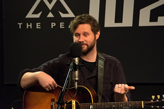 Dan Mangan in THE PEAK Lounge (alexisdayfoot) Tags: 1027thepeak thepeakfm thepeak thepeaklounge danmangan moreorless troubledmind canadianmusic vancouvercanada vancouverbc vancouvermusic vancouverconcert livemusic concert concertphotography livemusicphotography bcmusic yvrmusic yvr