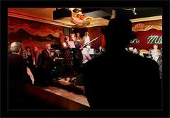 Chapeau Melon (Jean-Louis DUMAS) Tags: chicago jazz musique chapeau melon hat bar club nightclub night nightshot musiciens chanteur man woman