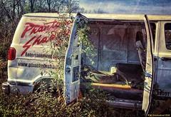 Entertainment Van (PhotosToArtByMike) Tags: hostetterssalvageyard shippensburg pennsylvania pa salvage usedparts van car truck parts vehicle shippensburgpennsylvania scrapmetal boroughofshippensburg centralpennsylvania cumberlandvalley franklincounty