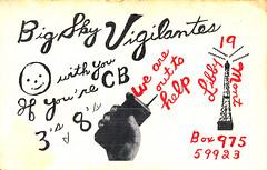 20003024 (myQSL) Tags: cb radio qsl card 1970s